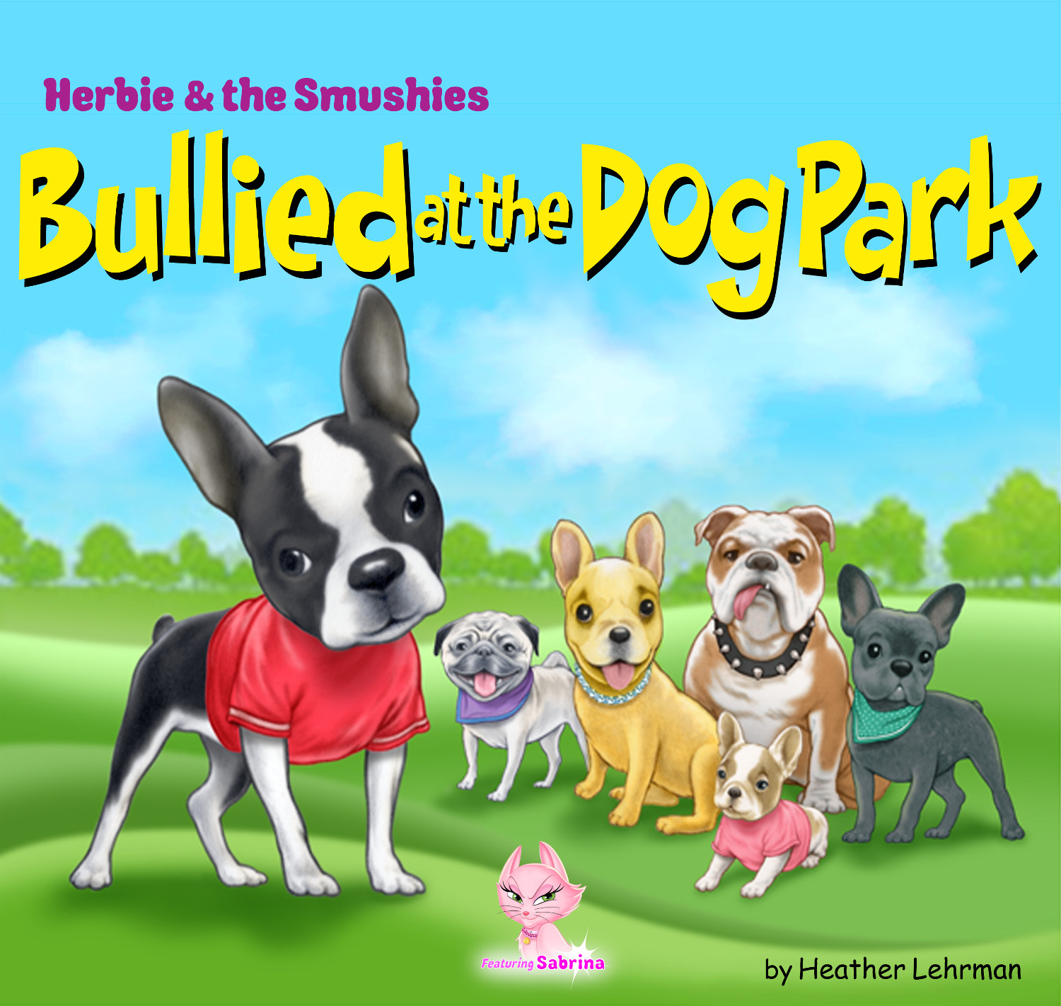 'Bullied At The Dog Park' Front Cover