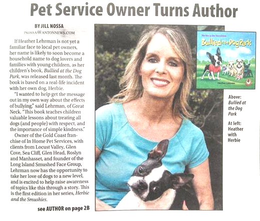 Pet Service Owner Turns Author